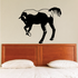 Away Bowing Horse Decal