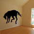 Kicking Horse Silhouette Decal