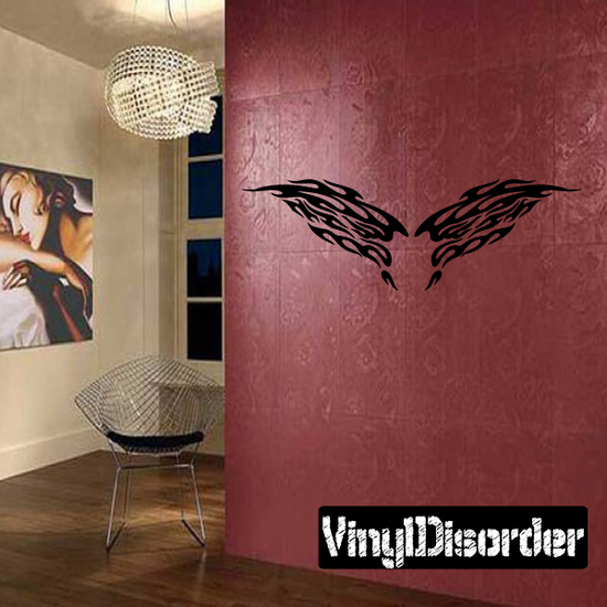 Wings Wall Decal - Vinyl Decal - Car Decal - DC12077