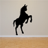 Mighty Standing Looking Horse Silhouette Decal