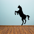 Away Facing Standing Horse Silhouette Decal