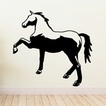 Fancy Trotting Horse Decal