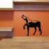 Side Curious Horse Decal