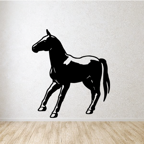 Pausing Horse Decal