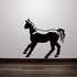 Pausing Look Horse Decal