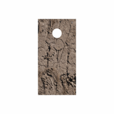 Dirt Cornhole Board Wrap
