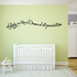 A Baby is like a Dream of all possibilities Wall Decal