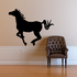 Galloping Pony Silhouette Decal