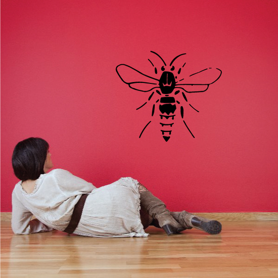 Motionless Bee Decal