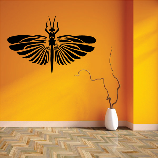 Multiple Wings Dragonfly Decal