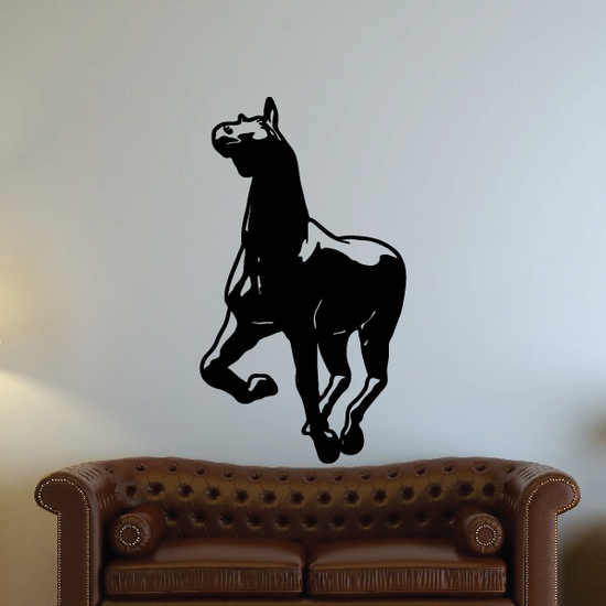 Charming Sprinting Horse Decal