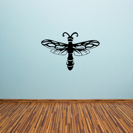 Fancy Bug Spread Wings Decal