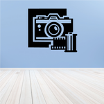 Camera Film Wall Decal - Vinyl Decal - Car Decal - MC43