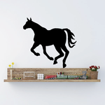 Escaping Horse Silhouette Decal