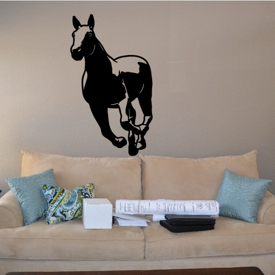 Chasing Pony Decal