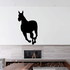 Chasing Pony Silhouette Decal