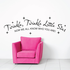 Twinkle Twinkle Little Star Now We All Know Who You Are Wall Decal