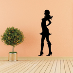 Shopping Girls JC002 Vinyl Decal Great For Cars Or Walls Sticker
