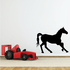 Backing Up Horse Silhouette Decal