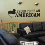 Proud to be an American Decal