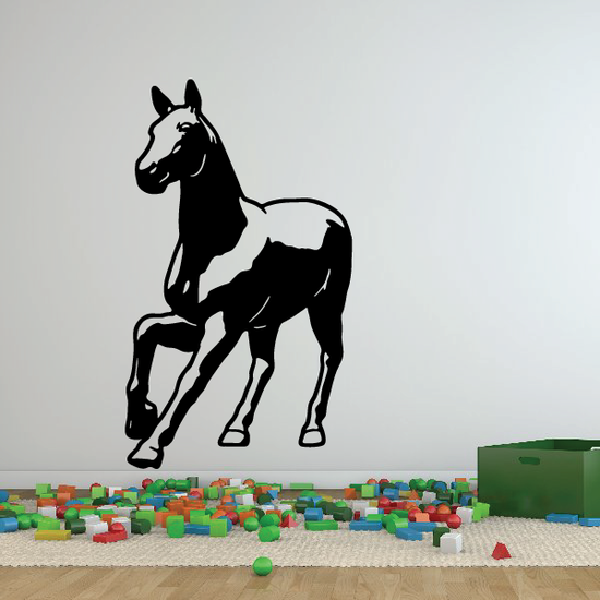 Approaching Pony Decal