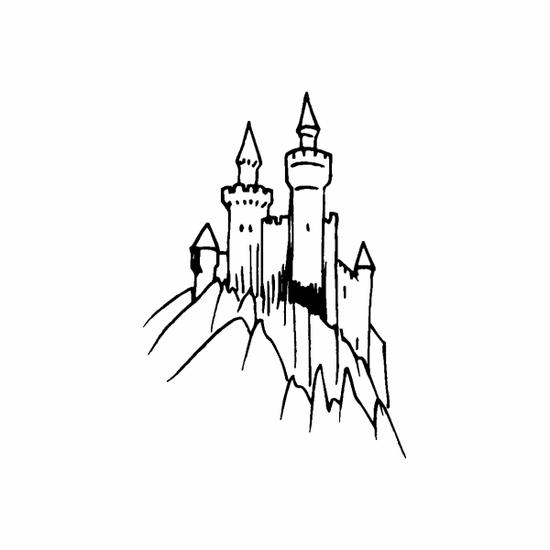 Mythical Castle Decal