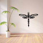 Intricate Dragonfly Decal