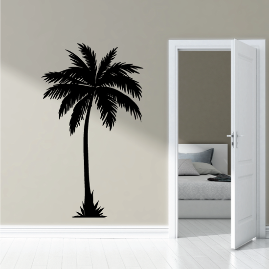Tropical Palm Tree Wall Decal - Vinyl Decal - Car Decal - KC01