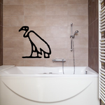 Egyptian Hieroglyphics Wall Decal - Vinyl Decal - Car Decal - BA167