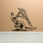 Detailed Windsurfer Decal