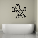 Egyptian Hieroglyphics Wall Decal - Vinyl Decal - Car Decal - BA172