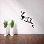 Kids Smiling Dragonfly Decal
