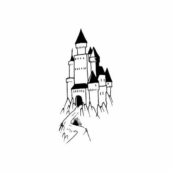 Lonely Castle Decal
