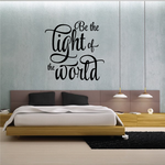 Be the Light Wall Decal