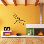Layered Wings Dragonfly Decal