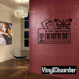 Piano and Keyboard Decals
