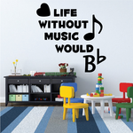 Musical Quote Decals