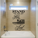 D and C 87:8 Stand Ye In Holy Places Wall Decal