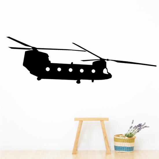 CH-47 Chinook Transport Helicopter Decal