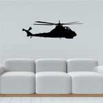 Military Attack Helicopter Decal