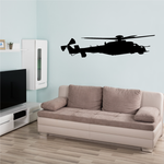 MI-24 Hind Attack Helicopter Decal
