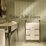 Return with honor Wall Decal