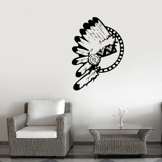 Feather Headdress Decal