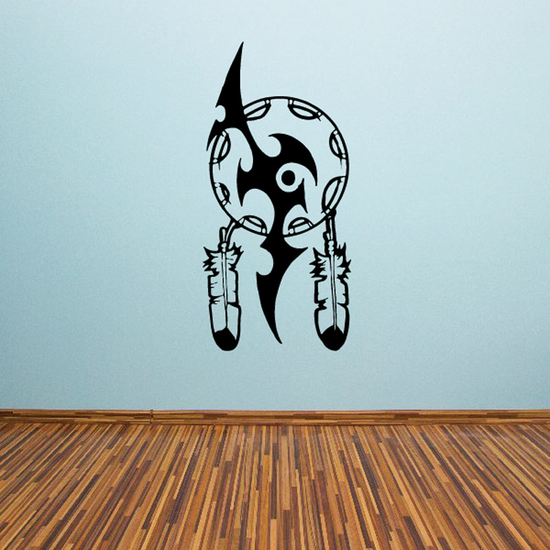 Dreamcatcher with Tribal Design Decal