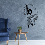Ceremonial Hoop with Peace Pipe Decal