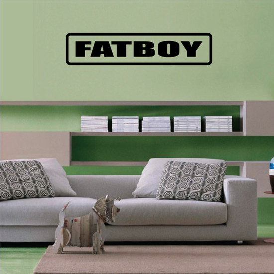 Fatboy Decal
