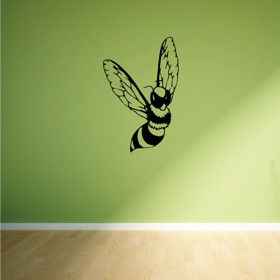 Fluttering Bee Decal
