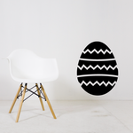 Zig Zag Easter Egg Decal