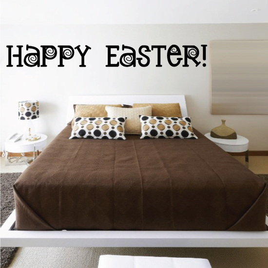 Wild Happy Easter Decal
