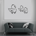 Easter Ducks Decal